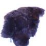 Stort brun/svart skinn (nr 1)