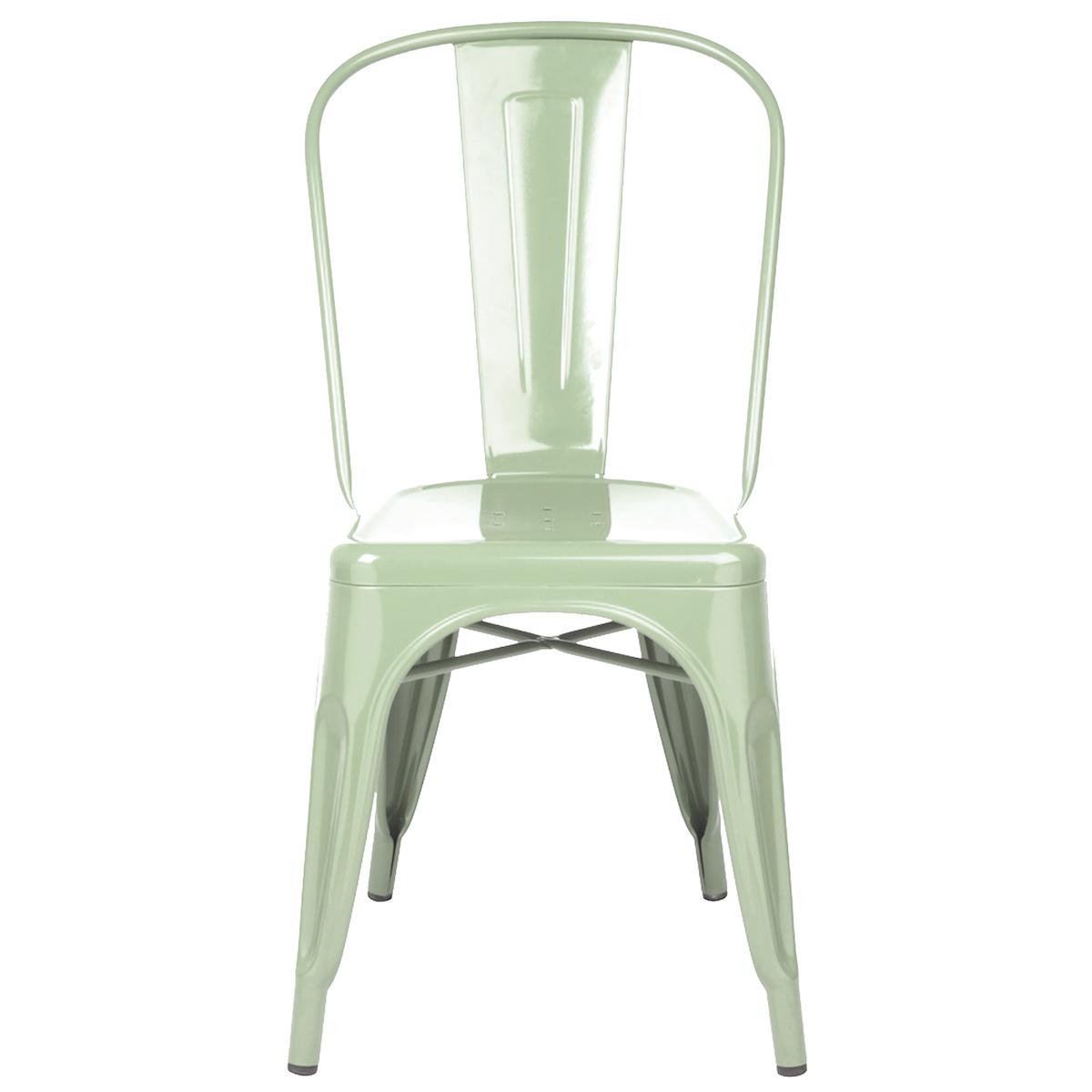 Ungdommelig Tolix stol – Grön | Slottstallet Möbler AV-73
